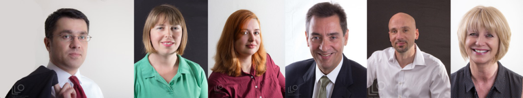Professional headshot photographs for business